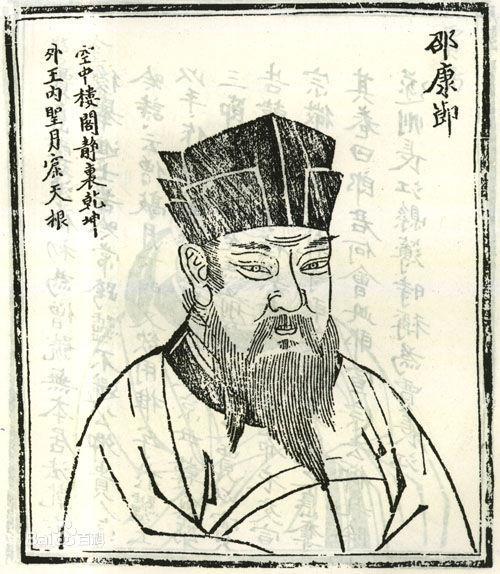 邵康节皇极经世_邵雍与二程,周敦颐,张载,合称为北宋五子,《皇极经世》更是奠定了他的